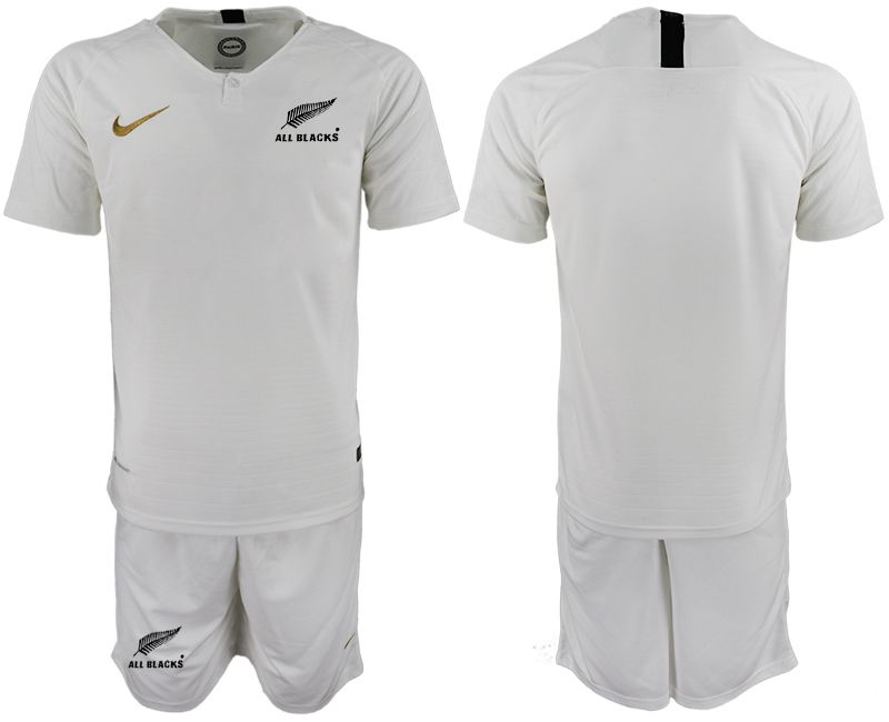 Men 2018-2019 National Team New Zealand home white Soccer Jerseys