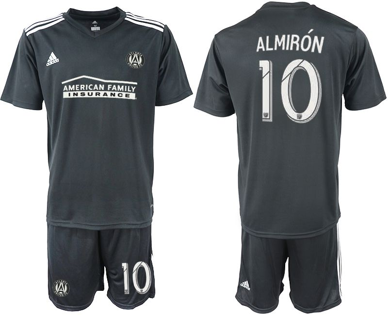 Men 2018-2019 club Atlanta United FC black 10 Soccer Jerseys