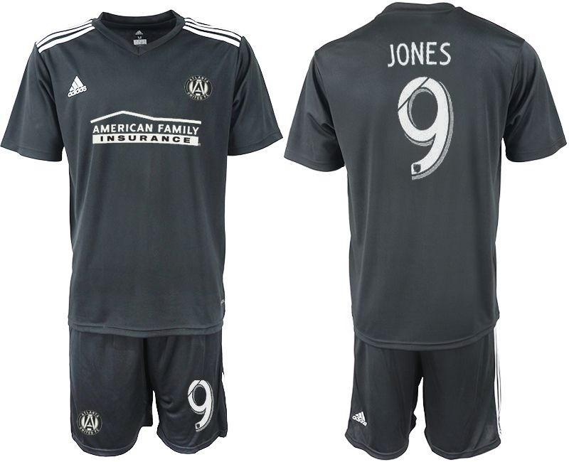 Men 2018-2019 club Atlanta United FC black 9 Soccer Jerseys