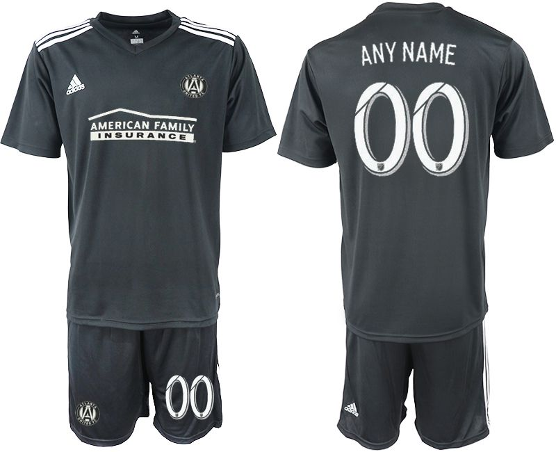 Men 2018-2019 club Atlanta United FC black customized Soccer Jerseys