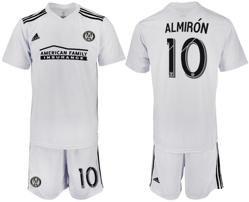 Men 2018-2019 club Atlanta United FC white 10 Soccer Jerseys
