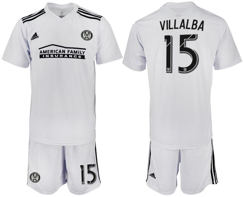 Men 2018-2019 club Atlanta United FC white 15 Soccer Jerseys