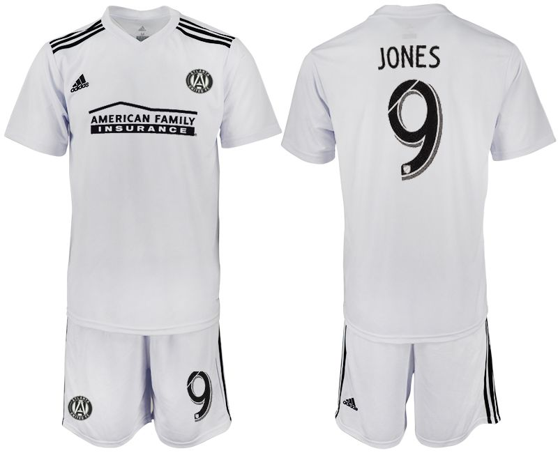 Men 2018-2019 club Atlanta United FC white 9 Soccer Jerseys