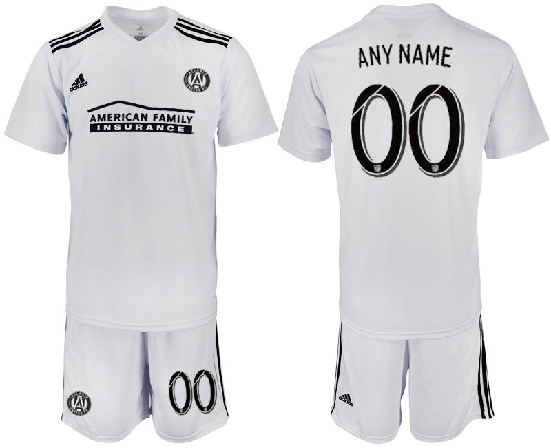 Men 2018-2019 club Atlanta United FC white customized Soccer Jerseys