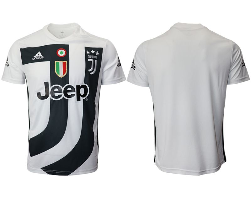 Men 2018-2019 club Juventus White training suit aaa version Soccer Jerseys