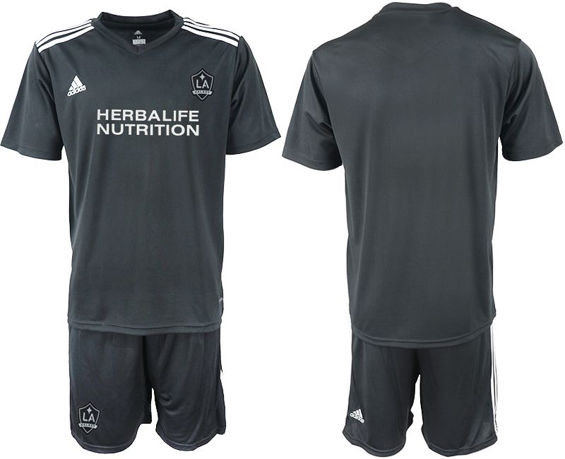 Men 2018-2019 club Los Angeles galaxy black training suit Soccer Jerseys