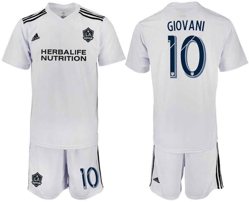 Men 2018-2019 club Los Angeles galaxy white training suit 10 Soccer Jerseys