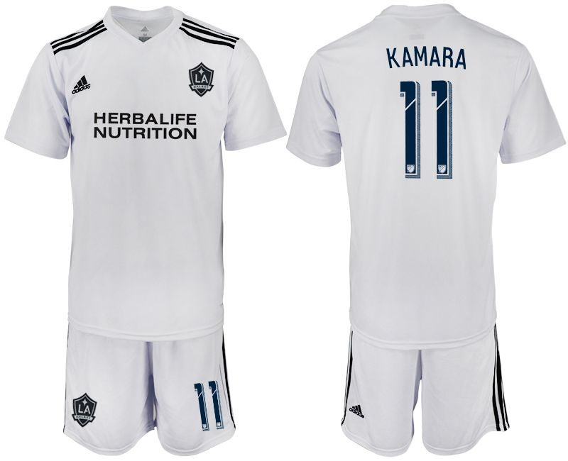 Men 2018-2019 club Los Angeles galaxy white training suit 11 Soccer Jerseys