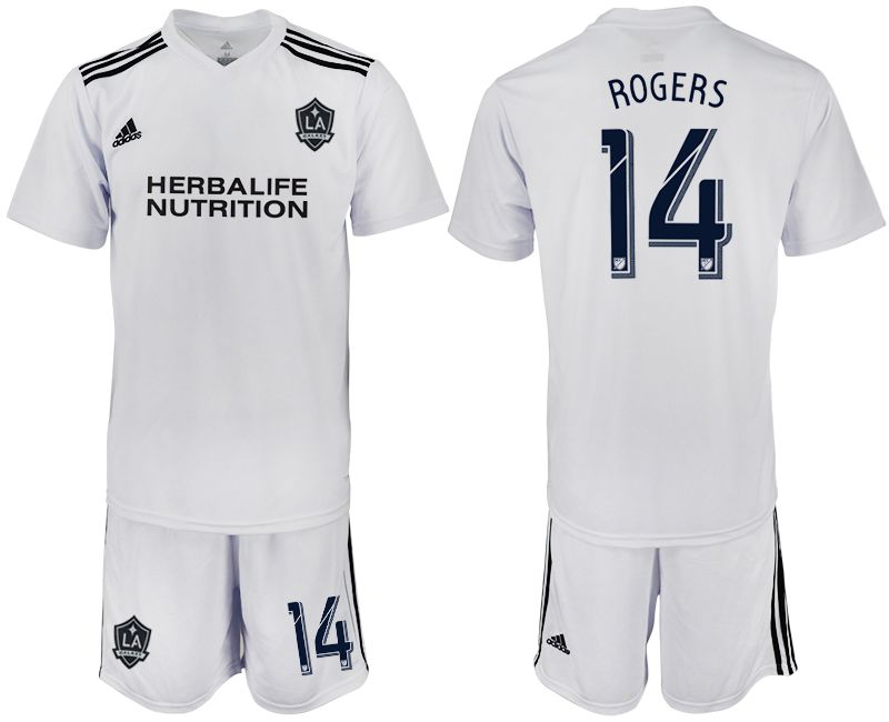 Men 2018-2019 club Los Angeles galaxy white training suit 14 Soccer Jerseys