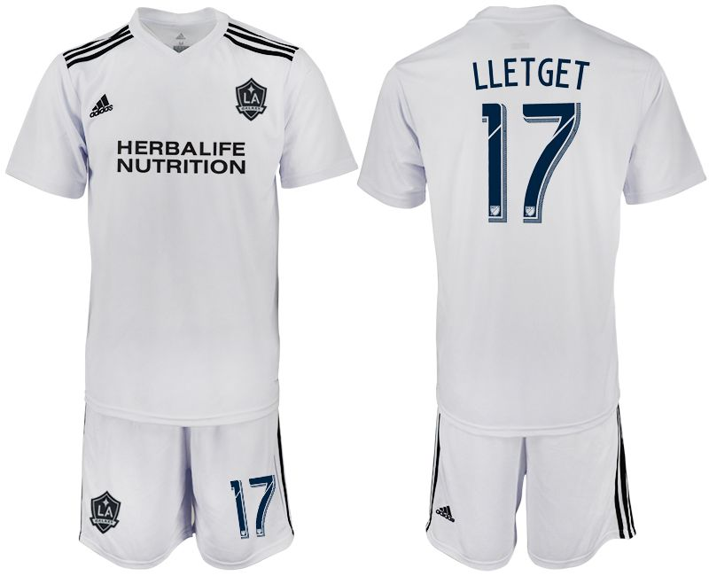Men 2018-2019 club Los Angeles galaxy white training suit 17 Soccer Jerseys