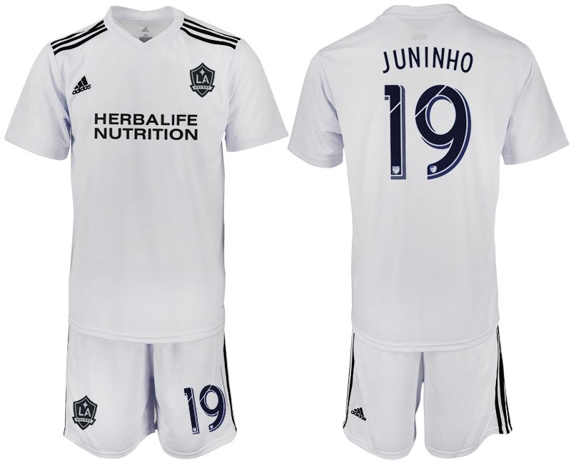 Men 2018-2019 club Los Angeles galaxy white training suit 19 Soccer Jerseys