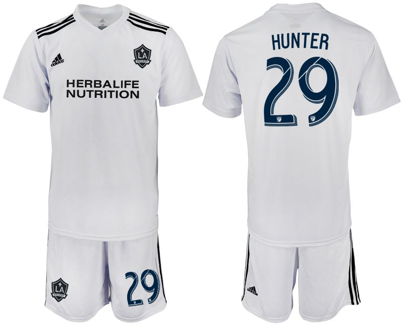 Men 2018-2019 club Los Angeles galaxy white training suit 29 Soccer Jerseys