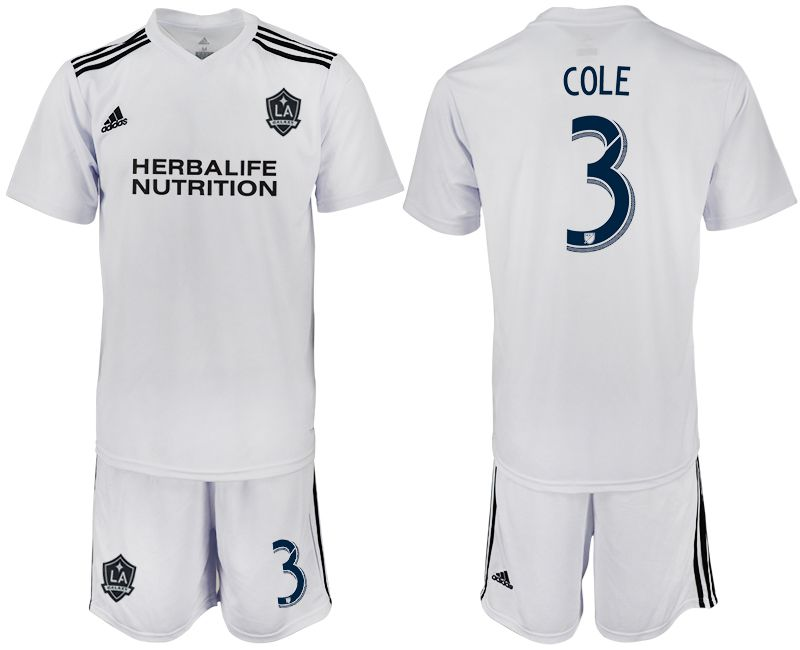Men 2018-2019 club Los Angeles galaxy white training suit 3 Soccer Jerseys