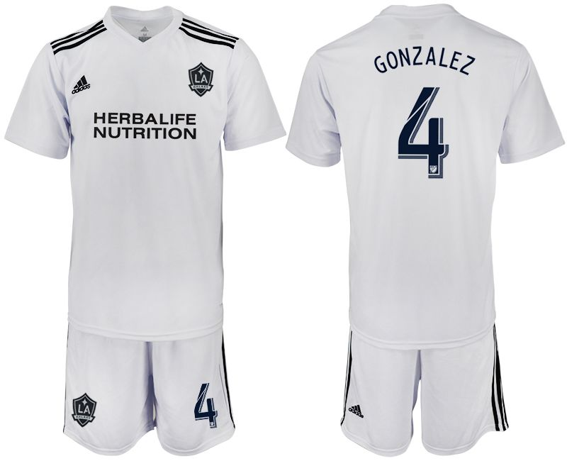 Men 2018-2019 club Los Angeles galaxy white training suit 4 Soccer Jerseys
