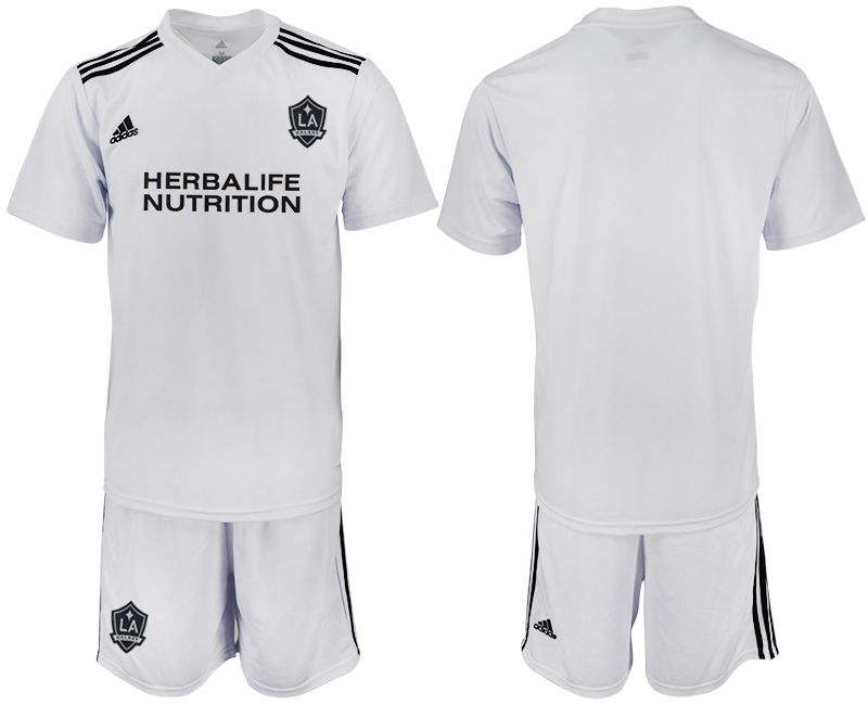 Men 2018-2019 club Los Angeles galaxy white training suit Soccer Jerseys
