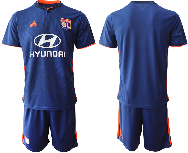 Men 2018_2019 Club Olympique Lyonnais away soccer jerseys
