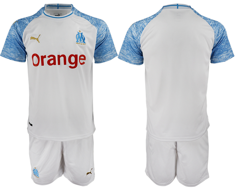 Men 2018_2019 Club Olympique de Marseille home soccer jerseys