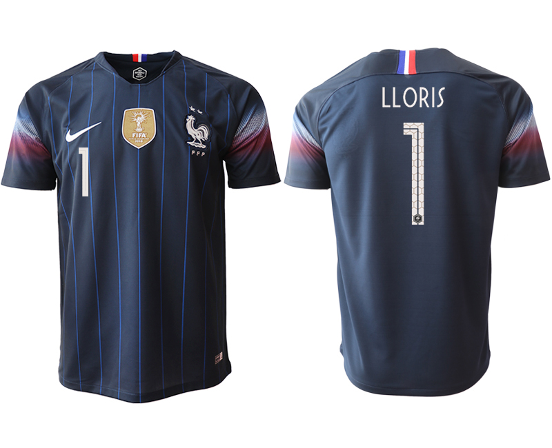 Men 2018_2019 National France home aaa version 1 Soccer jerseys