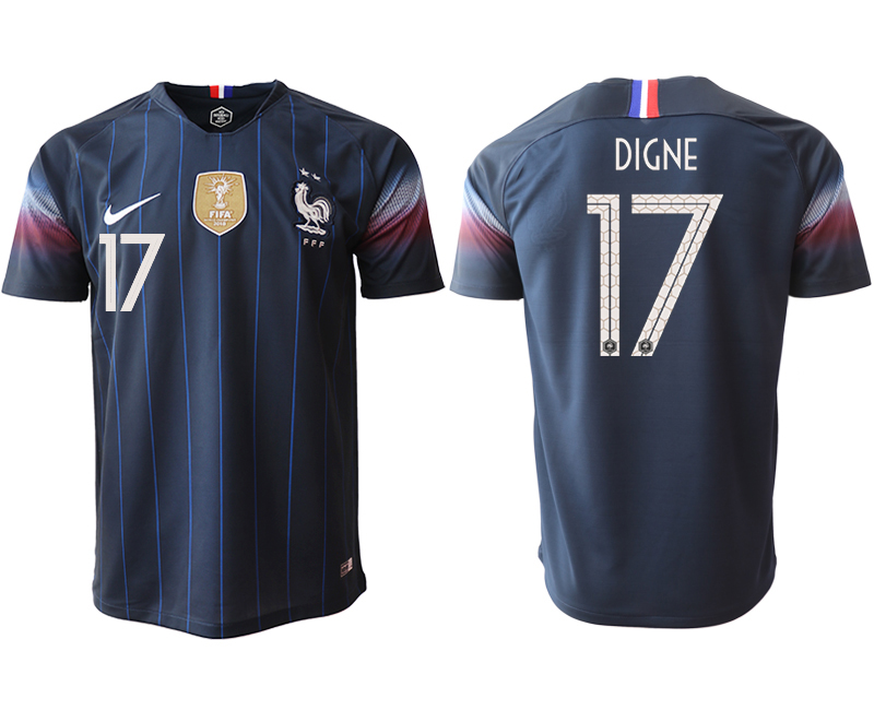 Men 2018_2019 National France home aaa version 17 Soccer jerseys