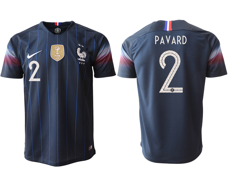 Men 2018_2019 National France home aaa version 2 Soccer jerseys