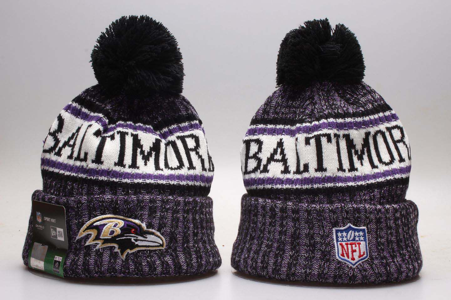 NFL Baltimore Ravens Beanie hot hat