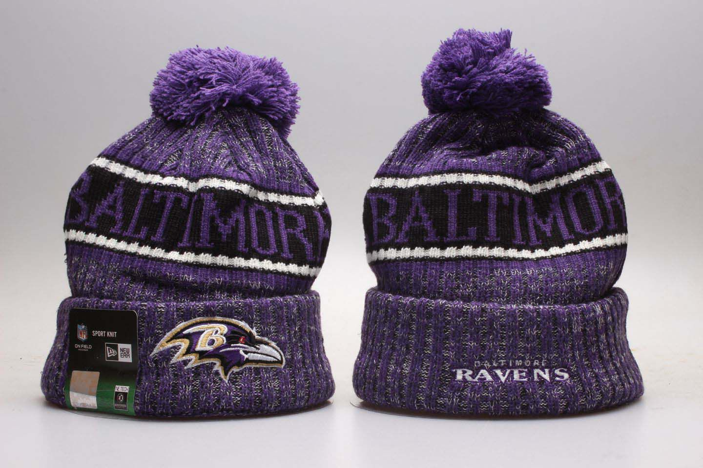 NFL Baltimore Ravens Beanie hot hat3