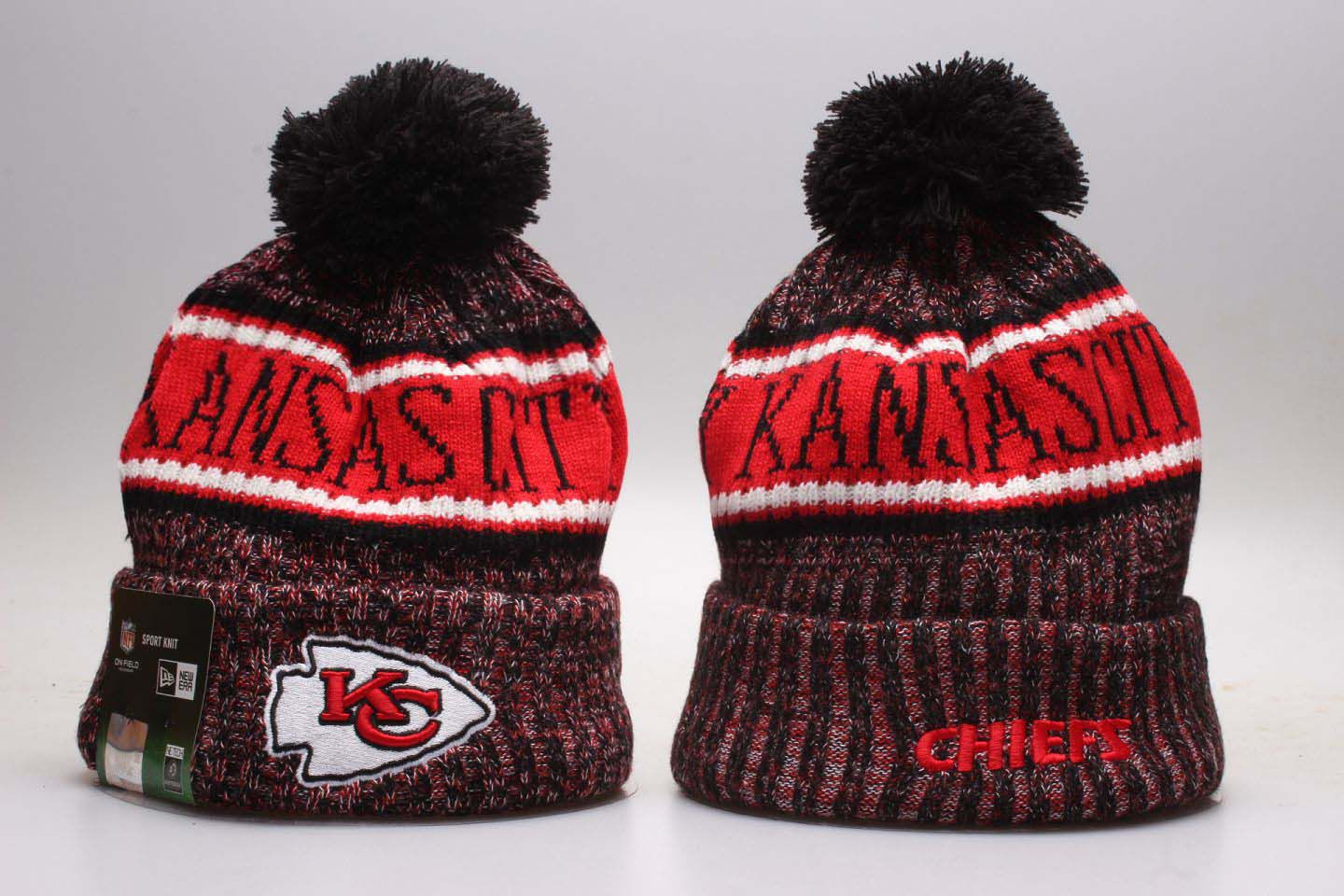 NFL Kansas City Chiefs Beanie hot hat2