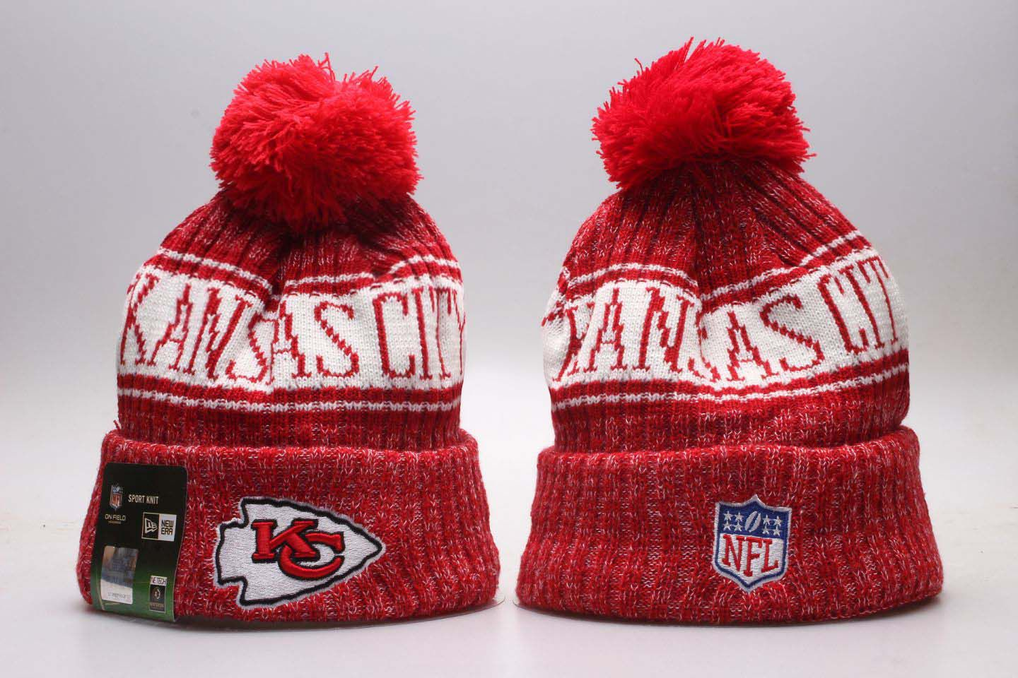 NFL Kansas City Chiefs Beanie hot hat3