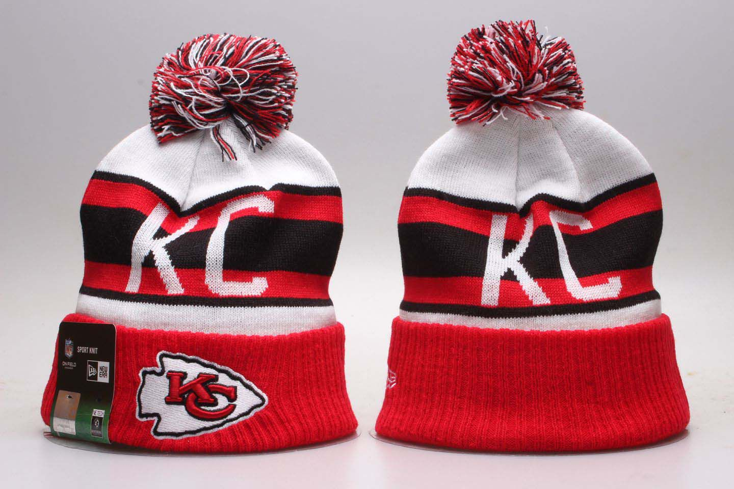 NFL Kansas City Chiefs Beanie hot hat4