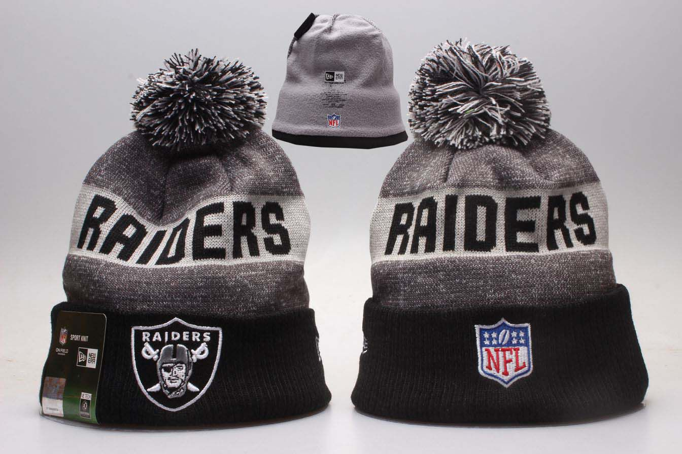 NFL Oakland Raiders Beanie hot hat6