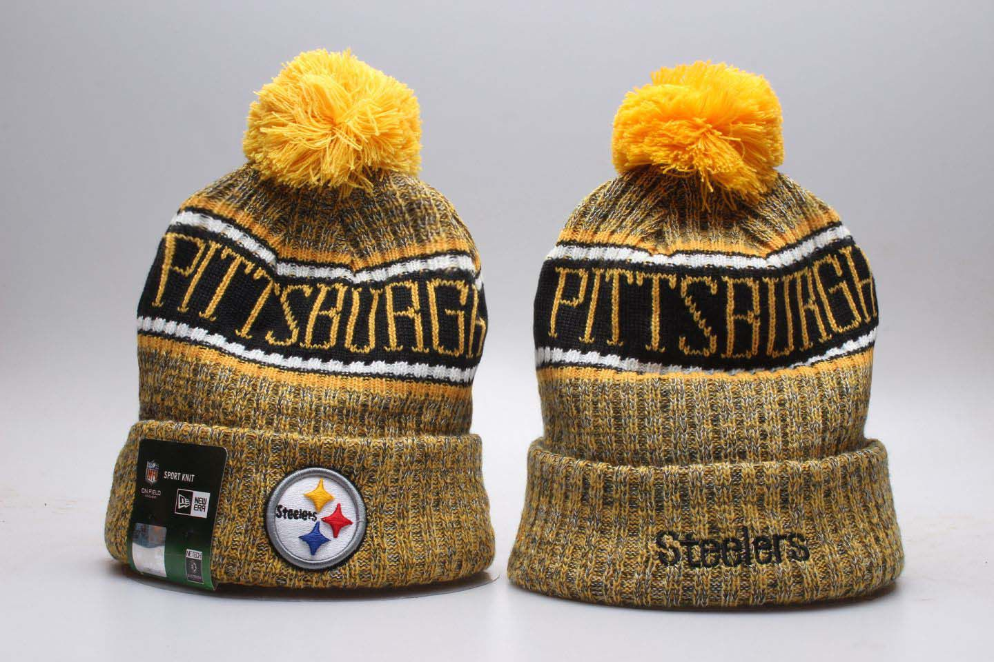 NFL Pittsburgh Steelers Beanie hot hat3