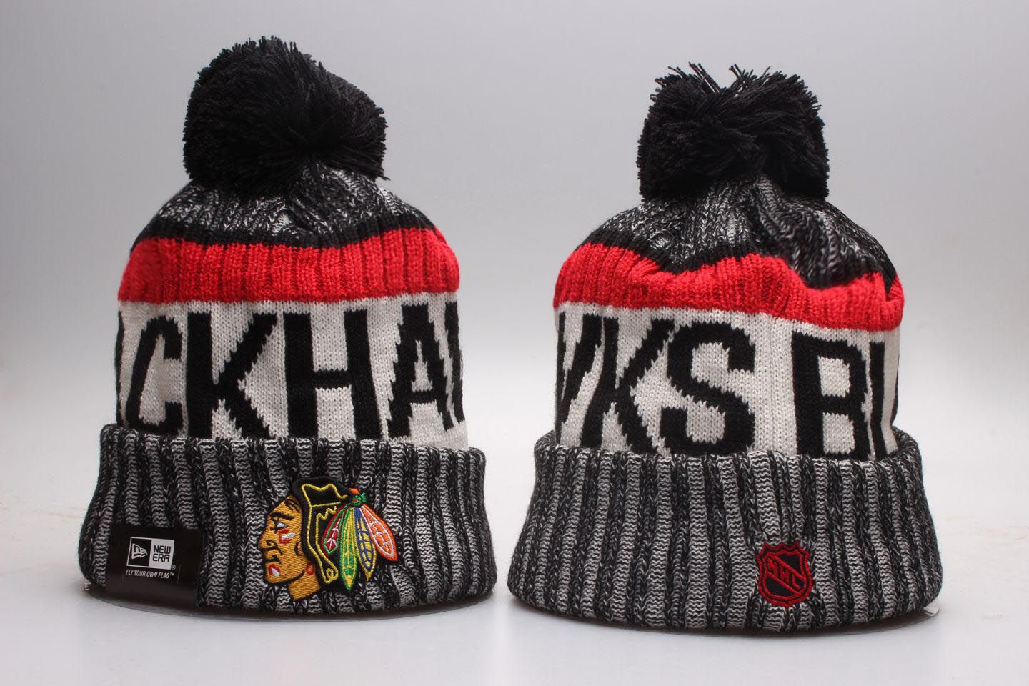 NHL Chicago Blackhawks Beanie hot hat
