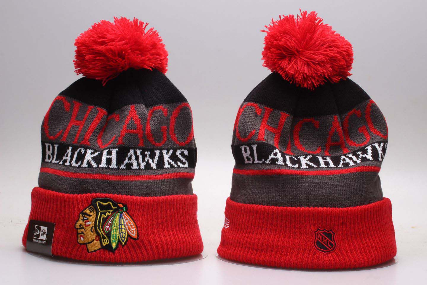NHL Chicago Blackhawks Beanie hot hat1
