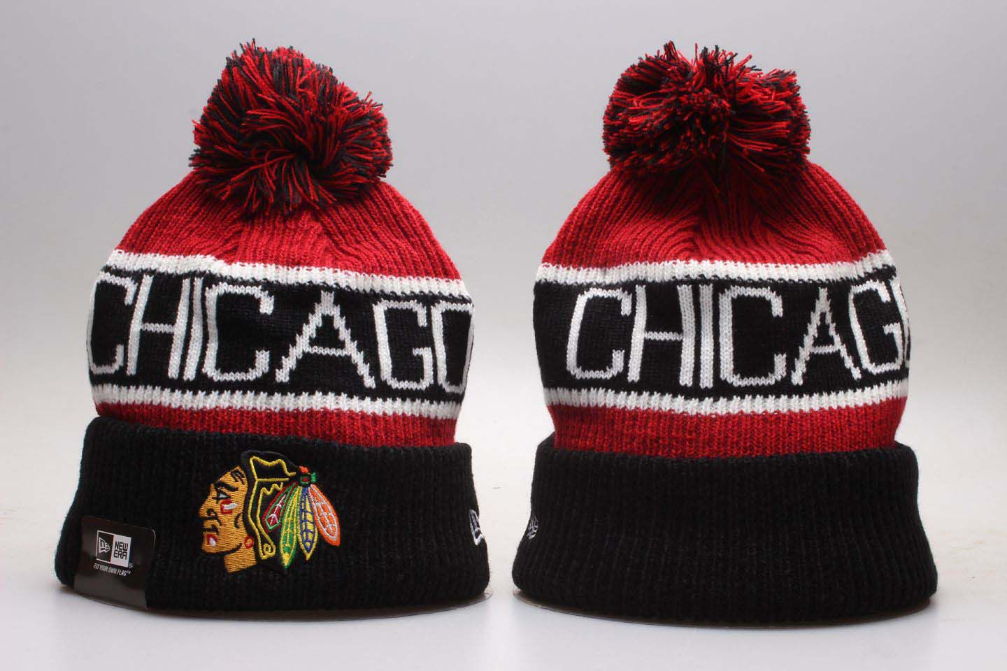 NHL Chicago Blackhawks Beanie hot hat2