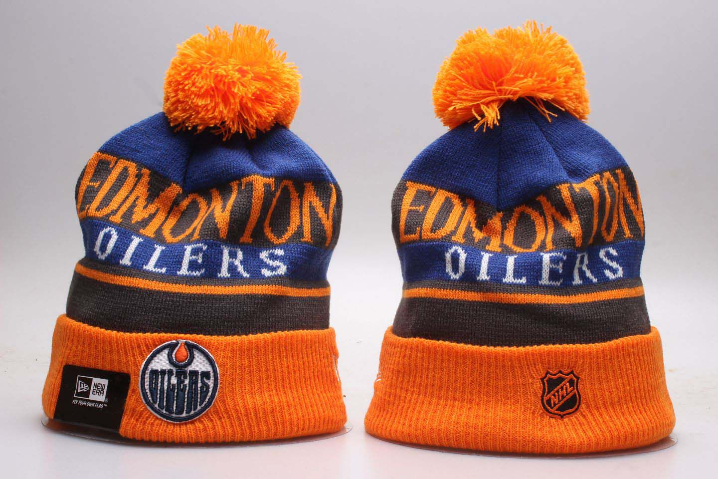 NHL Edmonton Oilers Beanie hot hat