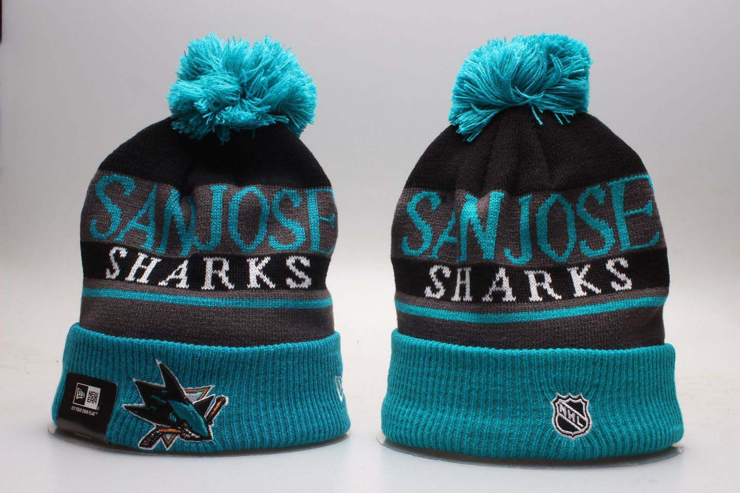 NHL San Jose Sharks Beanie hot hat