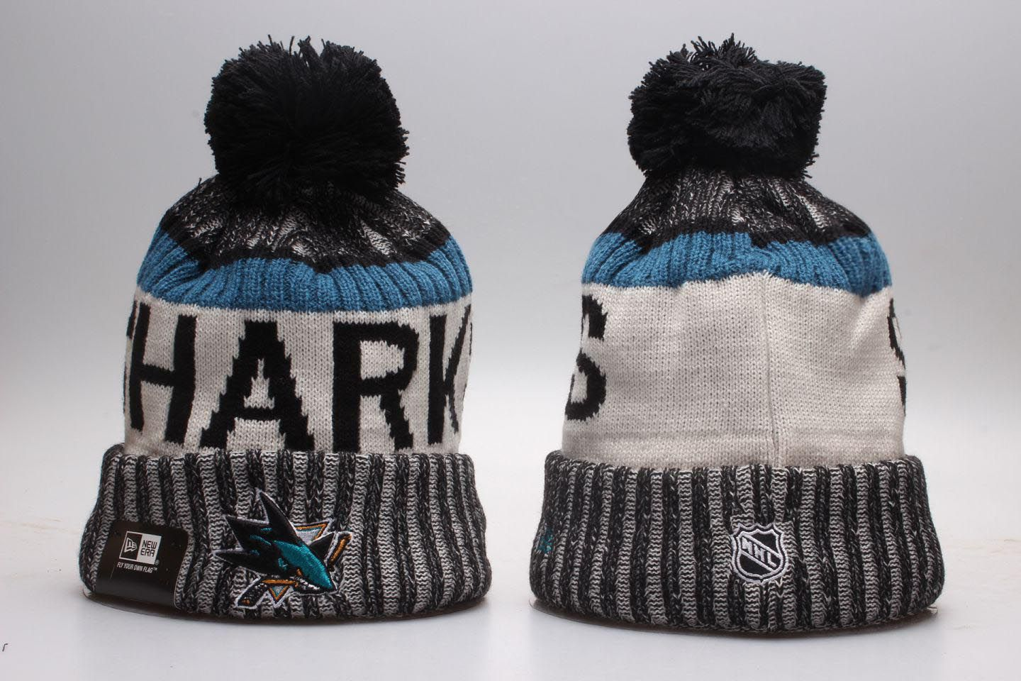 NHL San Jose Sharks Beanie hot hat1