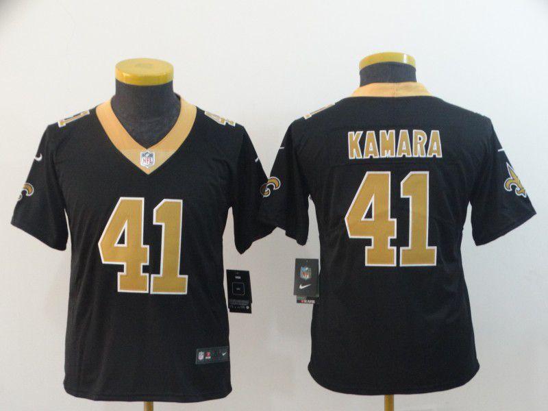 Youth New Orleans Saints 41 Kamara Black Nike Vapor Untouchable Limited  Player NFL Jerseys b07b6c28b