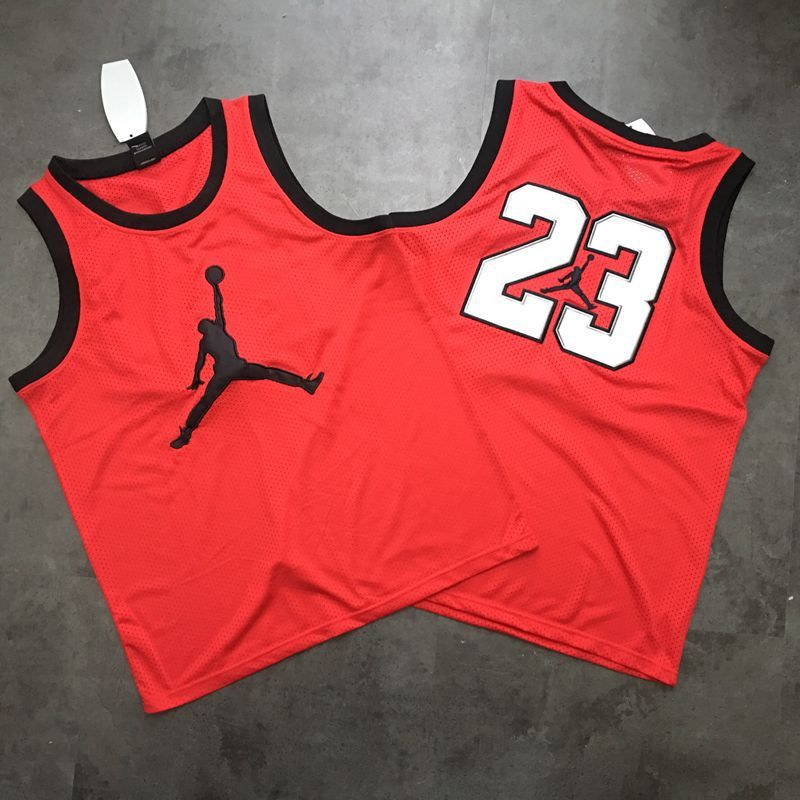 Men Chicago Bulls 23 Jordan red Trowback Swingman NBA Jersey