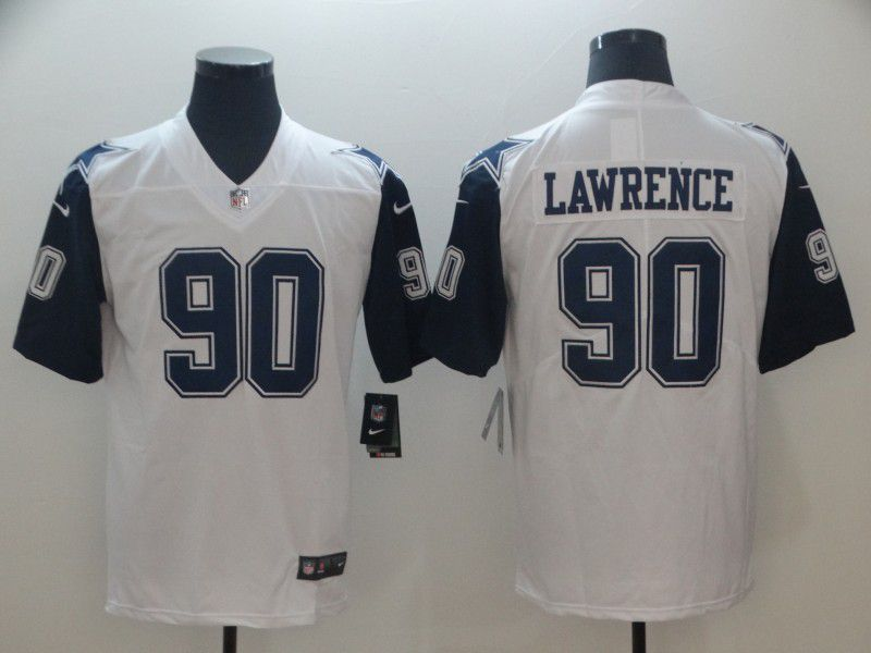 Men Dallas cowboys 90 Lawrence White Thanksgiving Nike Vapor Untouchable Limited Playe NFL Jerseys