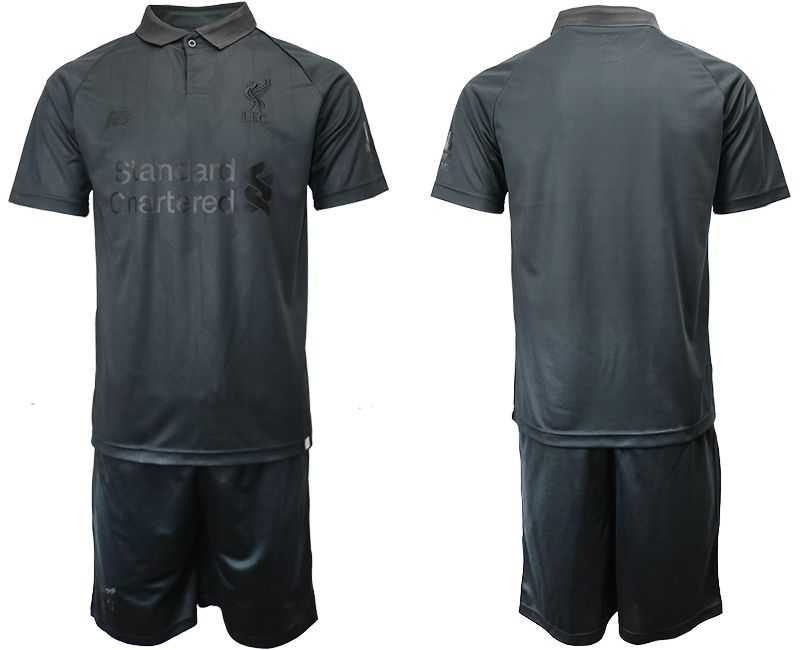 Men 2018-2019 club Liverpool black goalkeeper Soccer Jerseys