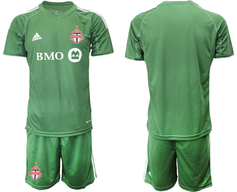 Men 2018-2019 club Toronto FC army green goalkeeper Soccer Jerseys