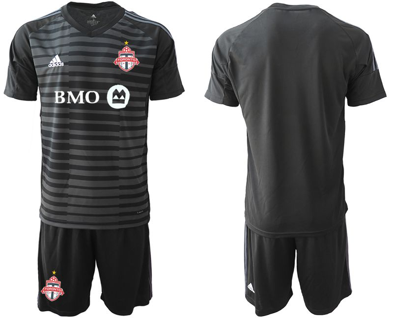 Men 2018-2019 club Toronto FC black goalkeeper Soccer Jerseys