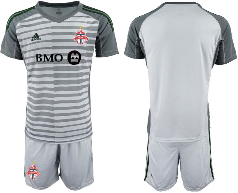 Men 2018-2019 club Toronto FC gray goalkeeper Soccer Jerseys