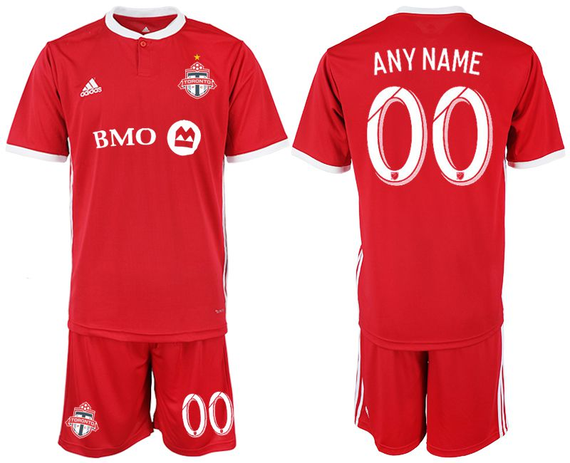 Men 2018-2019 club Toronto FC home red customized Soccer Jerseys