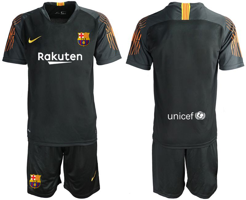 Men 2019-2020 club Barcelona black goalkeeper Soccer Jerseys