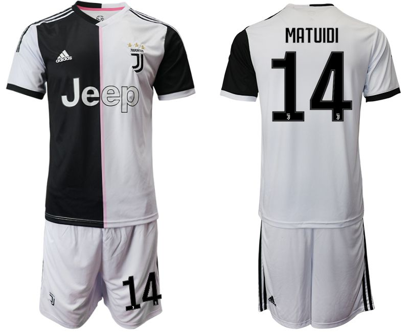 Men 2019-2020 club Juventus FC home 14 white Soccer Jerseys