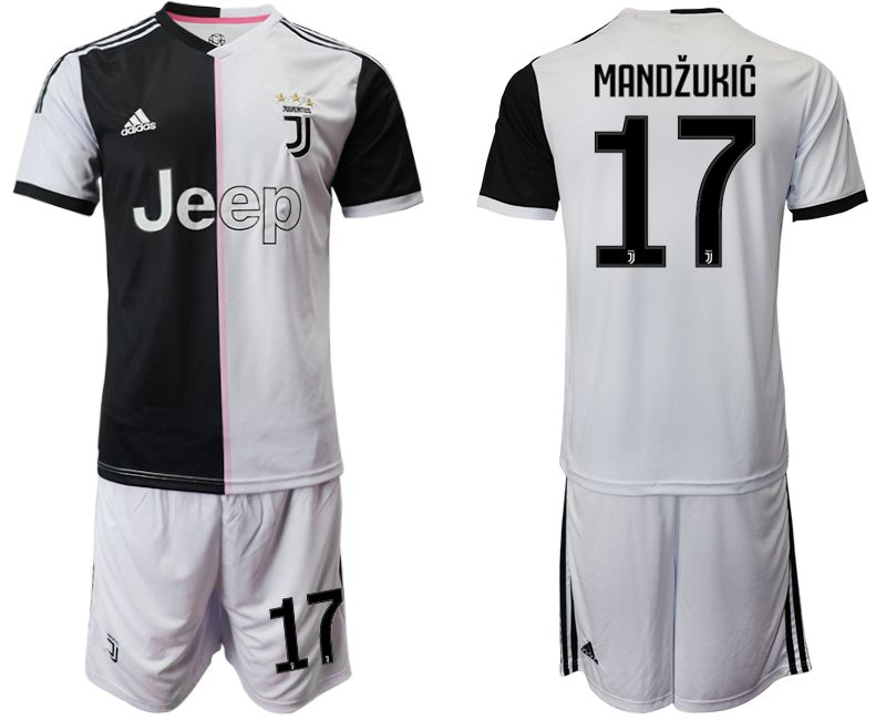 Men 2019-2020 club Juventus FC home 17 white Soccer Jerseys