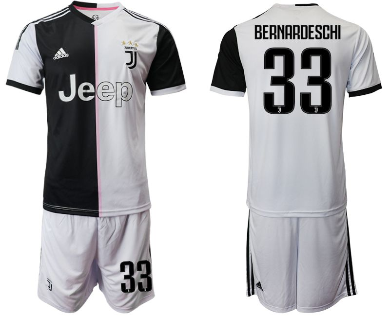 Men 2019-2020 club Juventus FC home 33 white Soccer Jerseys