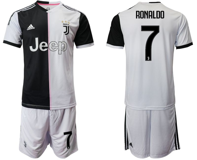 6205b7c9a87 Men 2019-2020 club Juventus FC home 7 white Soccer Jerseys